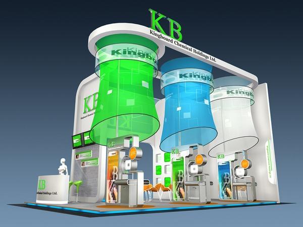 kb展览展示设计效果图