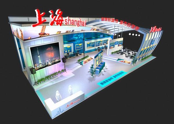 上海城市展览展示设计效果图