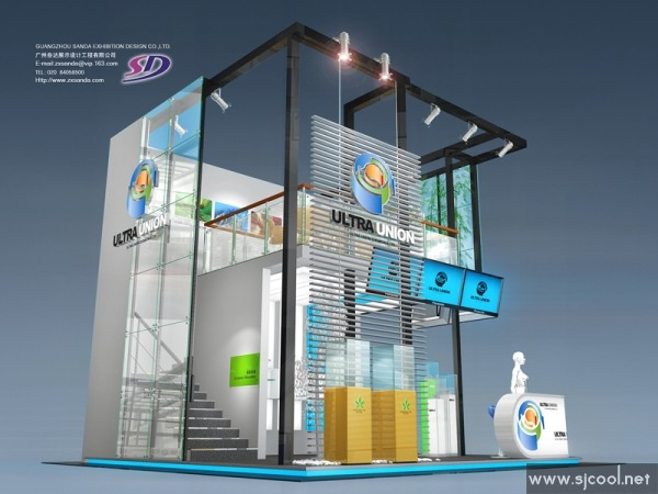 舞台设计 展览设计 效果图设计 ultra union展示设计图