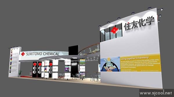 商业展示设计手绘设计图马克笔展示
