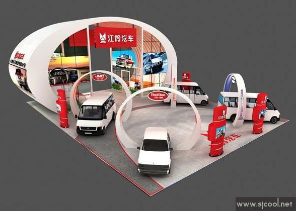 设计图库 江陵汽车展厅搭建效果图 零距离展会网 -展览展示设计 效果