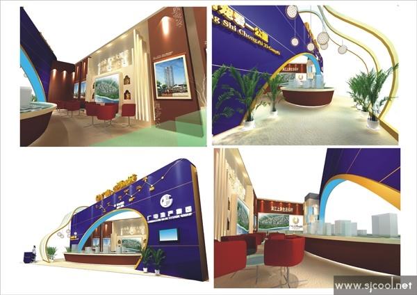 广电红湾新城展厅设计图