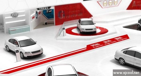 展览展示 特装搭建 长城汽车展厅搭建设计
