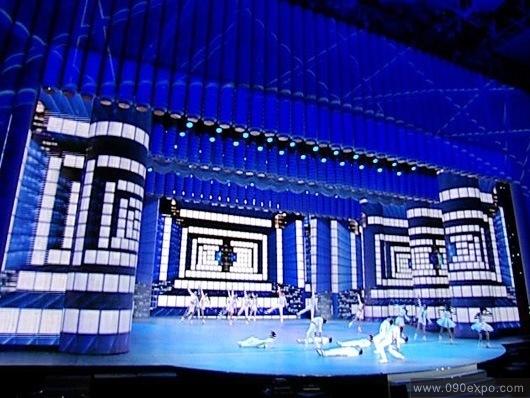 舞美灯光租赁之舞台灯光安装设计要点  关注:; 2009央视春晚舞.