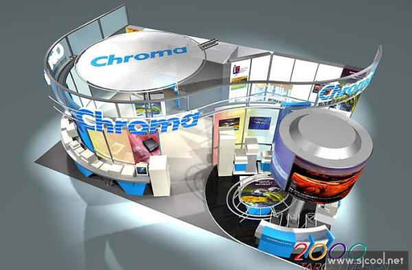 chroma特装展览展示设计