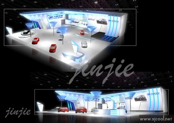 力帆汽车展厅设计效果图