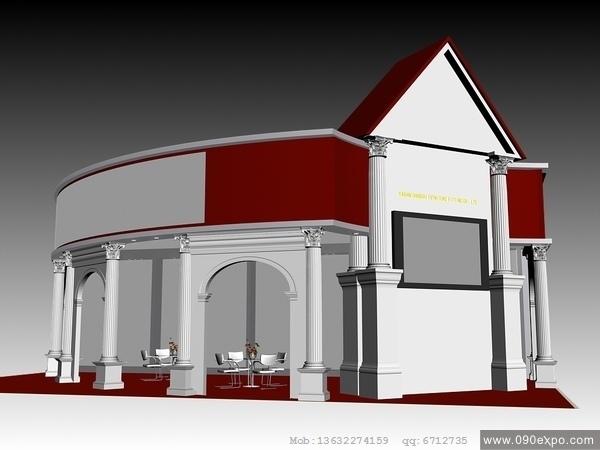 舞台设计 展览设计 效果图设计 e028模型3dmax展台高清图片