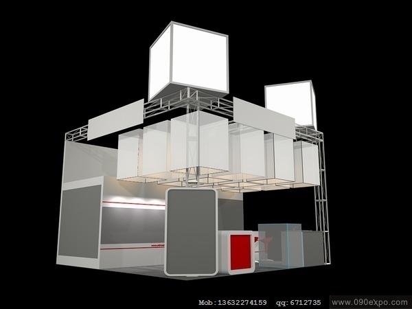 舞台设计 展览设计 效果图设计 ex063展台展示展览特装