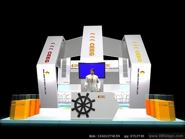 展台制作  工装夹具设计 秋装展示  工装展示 参展证  参展合同