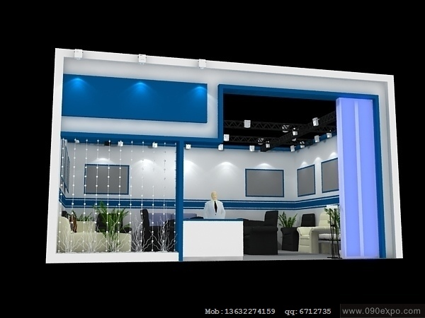 舞台设计 展览设计 效果图设计 ex2 122展示模型3dmax文件高清图片