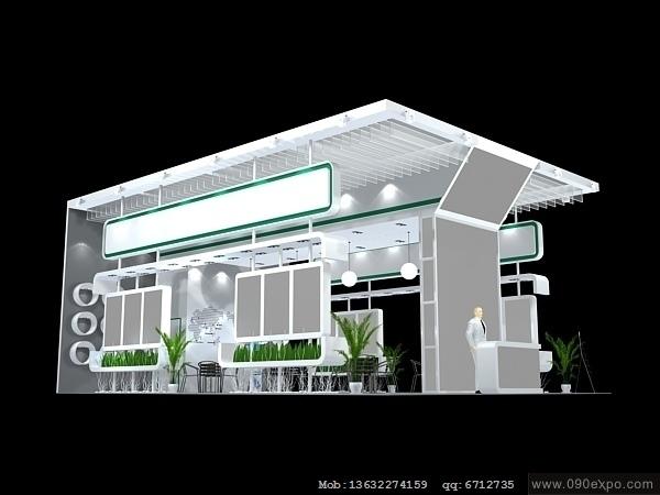 舞台设计 展览设计 效果图设计 ex2 152展览3dmax模型设高清图片