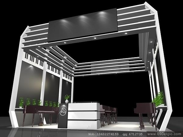 舞台设计 展览设计 效果图设计 ex2 286展示展览3dmax高清图片