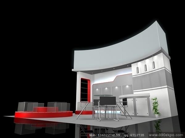 舞台设计 展览设计 效果图设计 ex2 294展示展览3dmax模高清图片