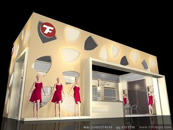 舞台设计 展览设计 效果图设计 ex2 038会展模型3dmax高清图片