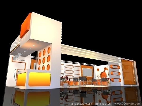 舞台设计 展览设计 效果图设计 ex2-047会展模型设计下载