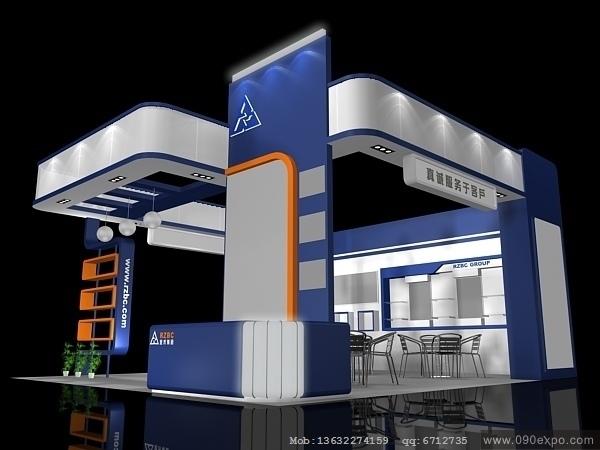 舞台设计 展览设计 效果图设计 ex2 060会展模型3dmax设高清图片