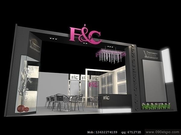 舞台设计 展览设计 效果图设计 ex2 065会展3dmax设计模型高清图片