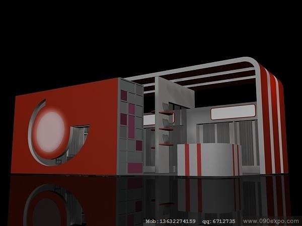 舞台设计 展览设计 效果图设计 ex2 066会展3dmax设计模高清图片