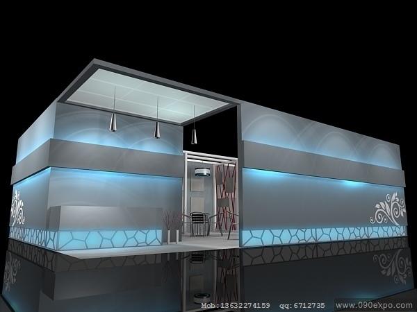 舞台设计 展览设计 效果图设计 ex2 074会展3dmax设计下高清图片
