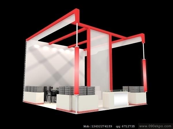 优秀展览设计案例 2012设计展览  展台设计搭建  佳能博览会  中国