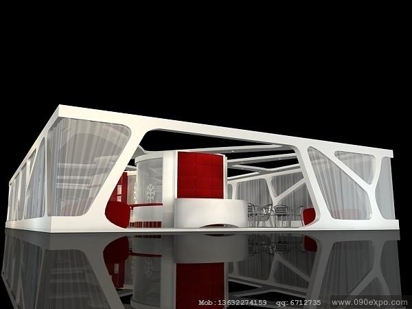 ex1-016特装展台3dmax模型设计源文件