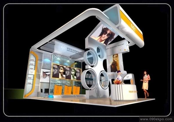 设计图库-深圳友泓眼镜制品厂展示图-零距离展会网