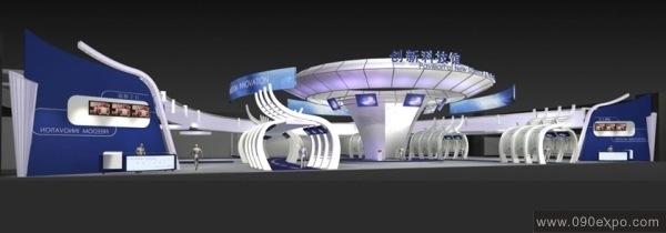 创新科技馆展示厅设计效果图