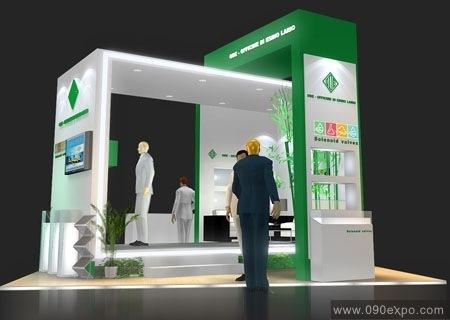 设计图库-ode展览展示设计效果图-零距离展会网