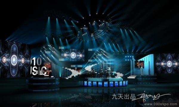 设计图库-2010music舞台设计a-零距离展会网