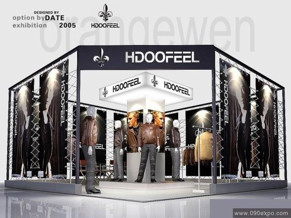 设计图库-hdoofeel服装展厅设计-零距离展会网