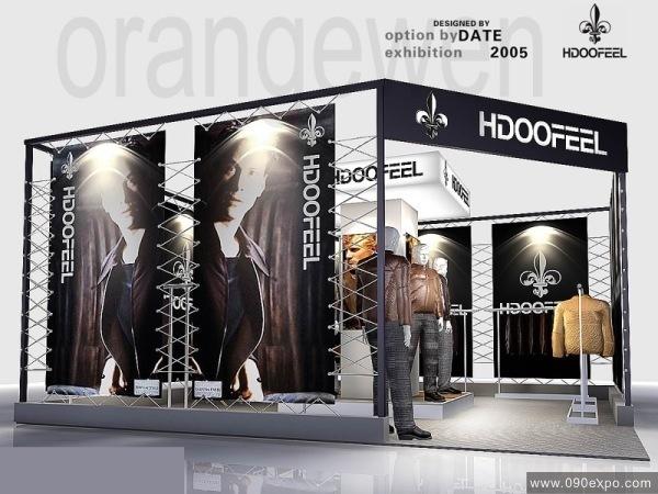 hdoofeel服装展厅设计--零距离展会网