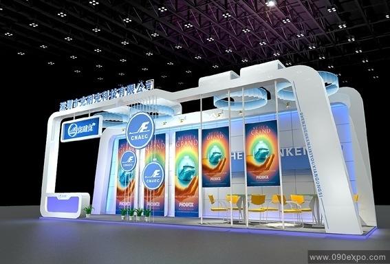 深圳市克耐克科技公司展览展示设计