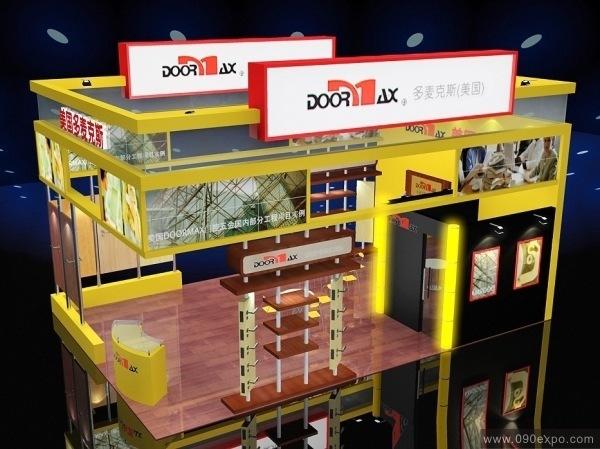 会展中心设计制作 展示设计手绘效果图 展示设计 展示设计模型