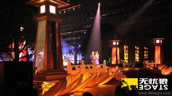 展览展示 特装搭建 长安国际佛教论坛开幕式-舞美设计c