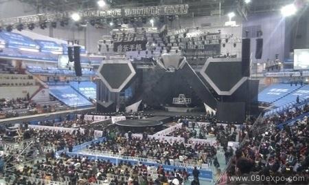 江苏卫视跨年演唱会舞台效果图b图片